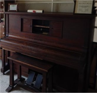 The piano where it all began